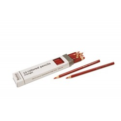 3- sided inset pencils: red
