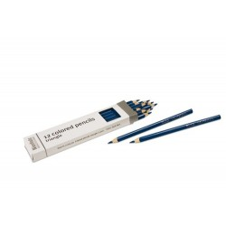 3- sided inset pencils: dark blue