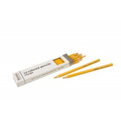 3- sided inset pencils: yellow