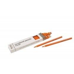 3- sided inset pencils: orange