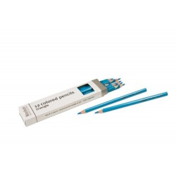3- sided inset pencils: light blue