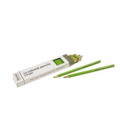 3- sided inset pencils: light green