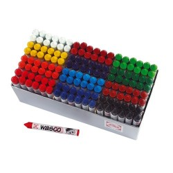 Oil crayons Wasco, Box of 144 pieces, 12 assorted colours