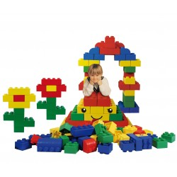 Building bricks - primary colours