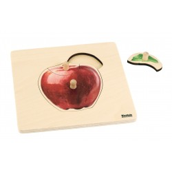 Toddler Puzzle: Apple