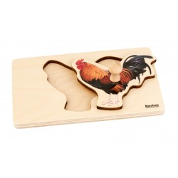 Toddler Puzzle: Rooster