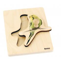 Toddler Puzzle: Parakeet
