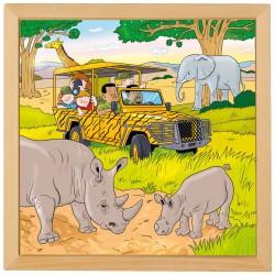 Holiday puzzles - Safari
