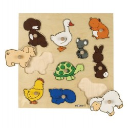 Inlay board - animals