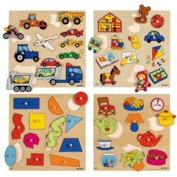 Inlay board - vehicles (11 shapes)