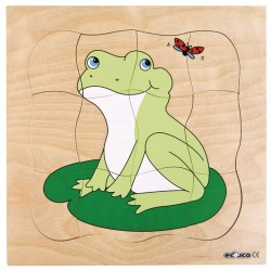 Growth puzzles - Frog