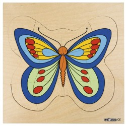 Growth puzzles - Butterfly