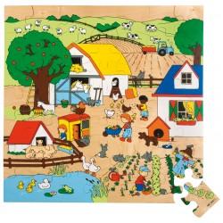 Floor puzzle - farm