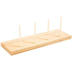 Find and count on color - Additional wooden stand (4 rods)