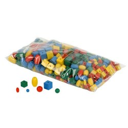 Logical stringing beads - set of 560 beads