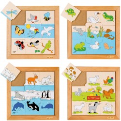 Animal puzzles - Flying