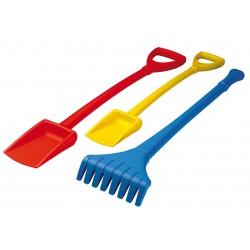 Spade length 80 cm, red