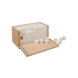 Кутия за обем с 250 кубчета