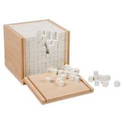 Volume box with 1000 cubes