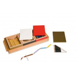 Addition snake game: individual beads nylon