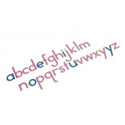 Large moveable alphabet: international print