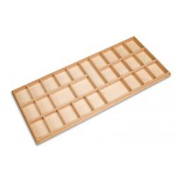 Medium moveable alphabet box