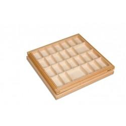 Small moveable alphabet box