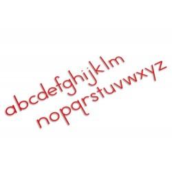 Средна подвижна азбука: международен стандарт на писане печатно - червено
