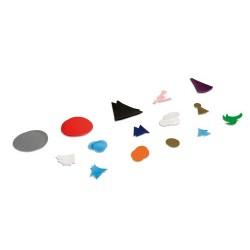 Plastic grammar symbols replacement set