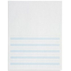 Writing paper: blue lines - 8.5x11 in (500)