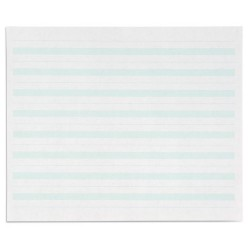 Writing paper: green lines - 7x8.5 in (500)