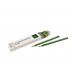 3- sided inset pencils: green