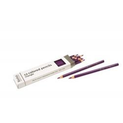 3- sided inset pencils: violet