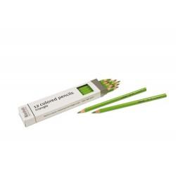 3- sided inset pencils: light green
