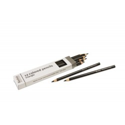 3- sided inset pencils: black