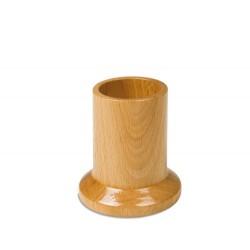 Natural wood pencil holder