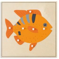Пъзел с животни: Риба