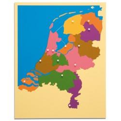 Карта пъзел: Холандия
