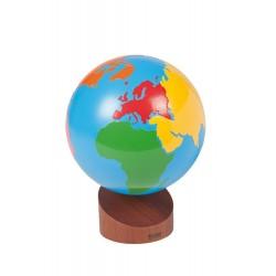 Глобус: Континенти
