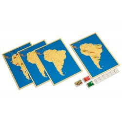 Четири карти на Южна Америка