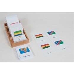 Знамена на държави – Африка