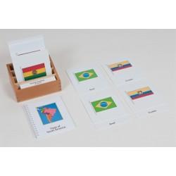 Знамена на държави – Южна Америка