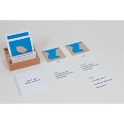 Комплект карти (1)– сухоземни и водни релефни форми