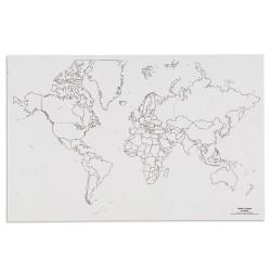 Карта на света: Политическа (50)