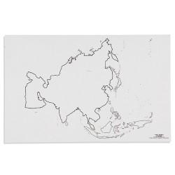 Asia: Outline (50)