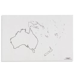 Австралия: Очерания на континента (50)