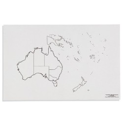 Australia: State Boundries (50)