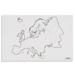 Европа: Реки (50)