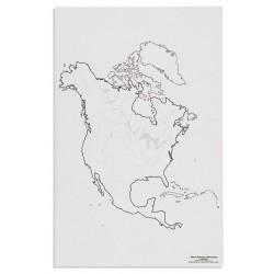 Северна Америка: Реки (50)