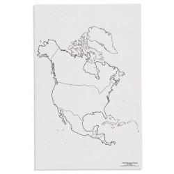 Северна Америка: Политическа (50)